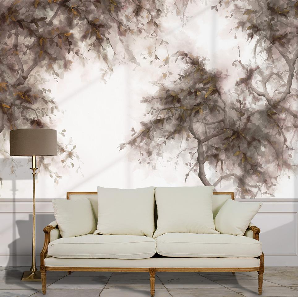 Papel pintado Bauhinia de la coleccion Il Jardino