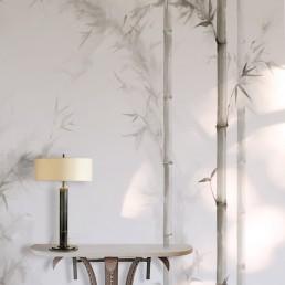 Bamboo - papel pintado a mano